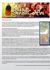 FRATELLI SENZA CONFINI MAGGIO 2016